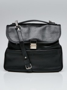 Proenza Schouler Black Leather Kent Bag