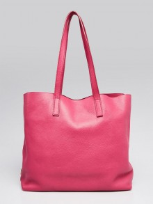 Prada Peonia Vitello Daino Leather Tote Bag BR4819