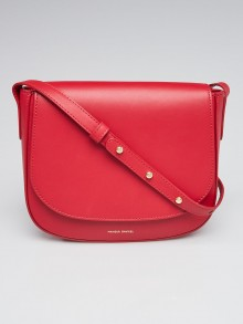 Mansur Gavriel Flamma Calf Leather Crossbody Bag