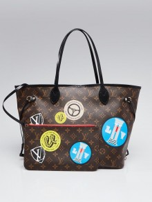 Louis Vuitton Monogram Canvas Neverfull World Tour MM Bag