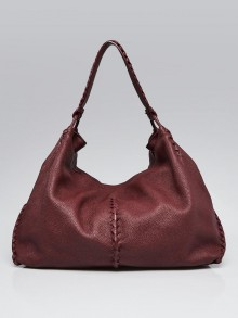 Bottega Veneta Barolo Cervo Leather Loop Hobo Bag