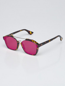 Christian Dior Tortoise Shell Acetate Abstract Sunglasses