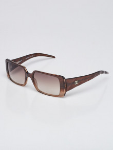 Chanel Brown Frame Quilted CC Logo Sunglasses- 5045