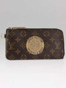 Louis Vuitton Limited Edition Monogram Canvas Complice Trunks and Bags Wallet