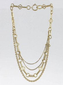 Louis Vuitton Vegas Chain Necklace
