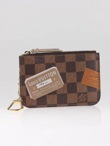 Louis Vuitton Limited Edition Damier Canvas Trunks and Bags Key Pouch