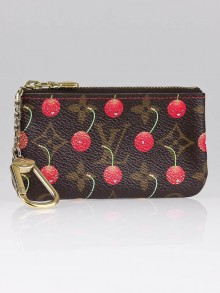 Louis Vuitton Limited Edition Cerise Key and Change Holder