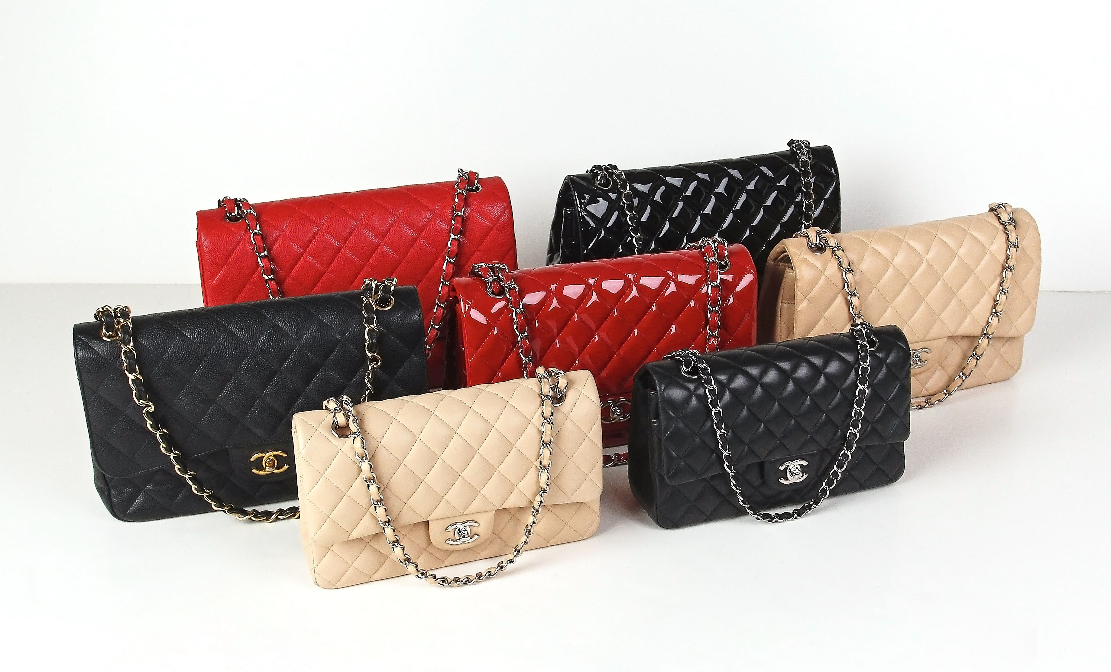5a15baf06524 Chanel Classic Flap Bag Collection | YoogisCloset.com