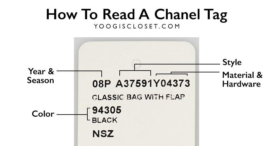 a476b77945d387 How To Read A Chanel Tag - Yoogi's Closet Blog