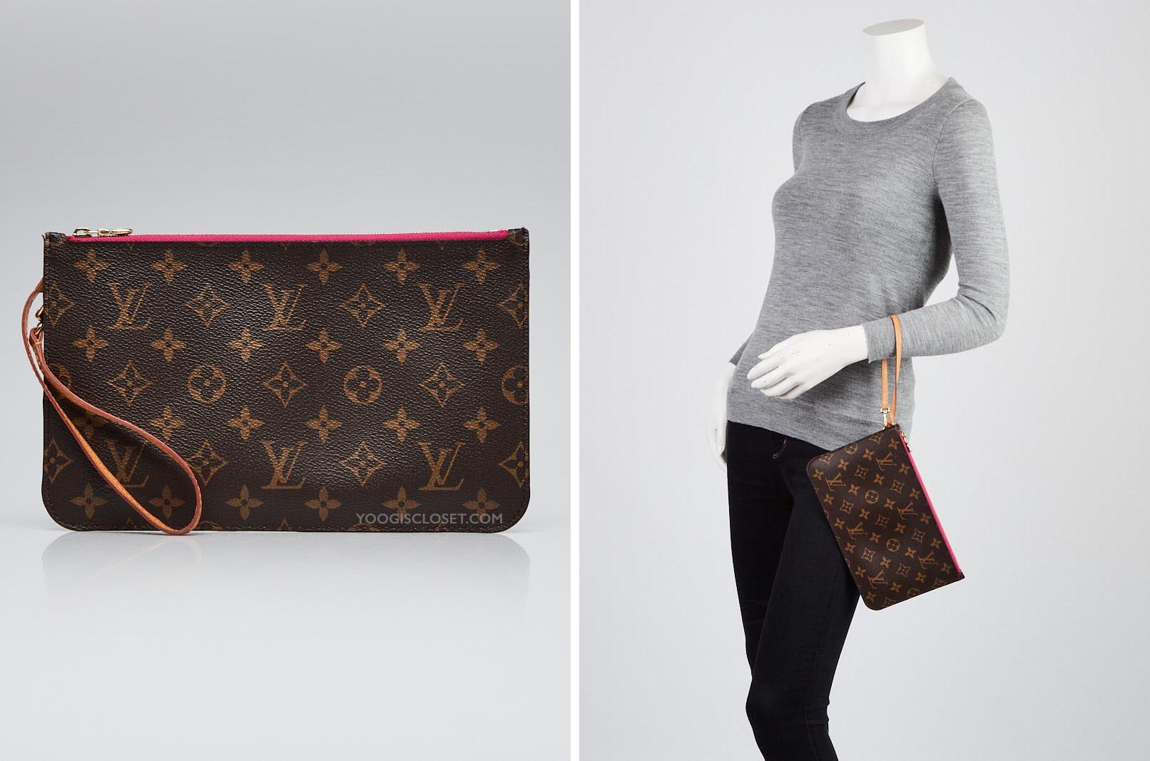 fb6ad767b99 Neverfull Clutch Size Difference Guide - Yoogi's Closet Blog