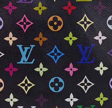 Louis Vuitton Black Multicolor