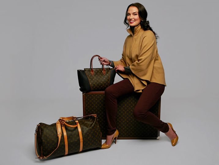 Louis Vuitton luggage, bags, jewelry and more