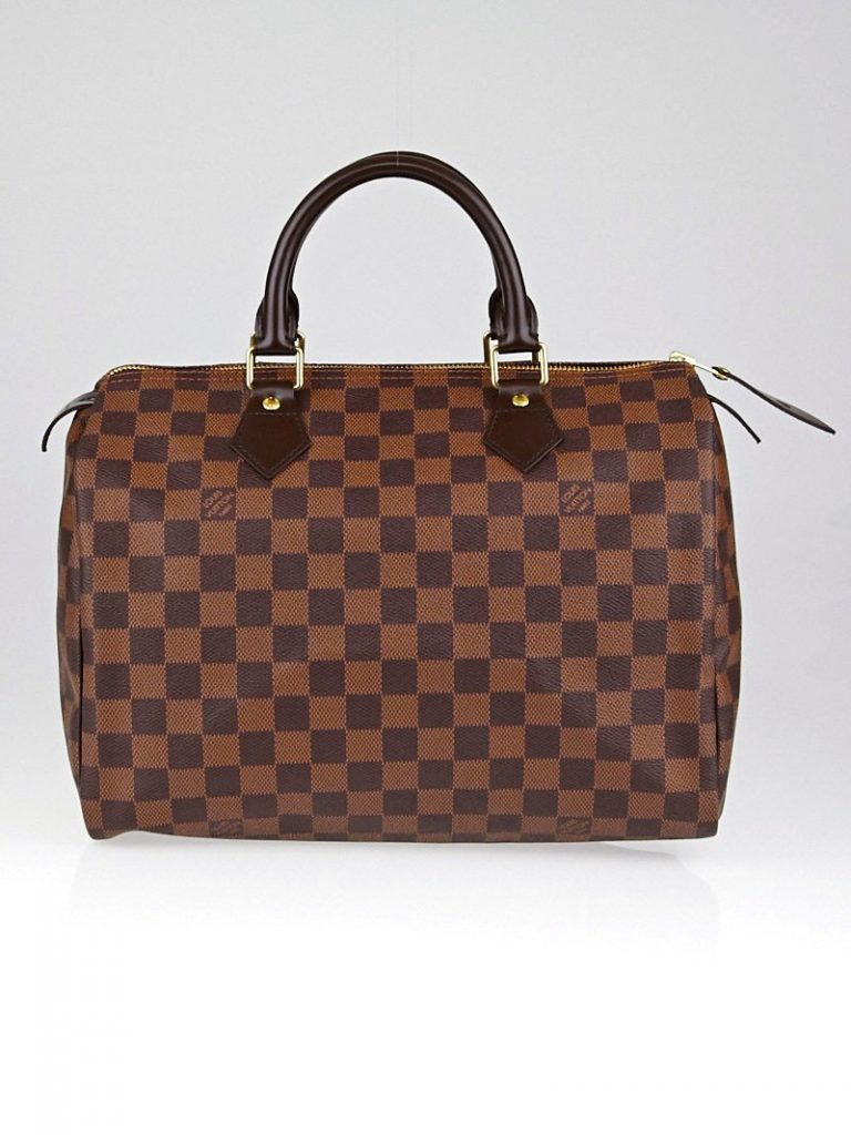 Louis Vuitton Damier Canvas Speedy 30 Bag | Yoogi's Closet