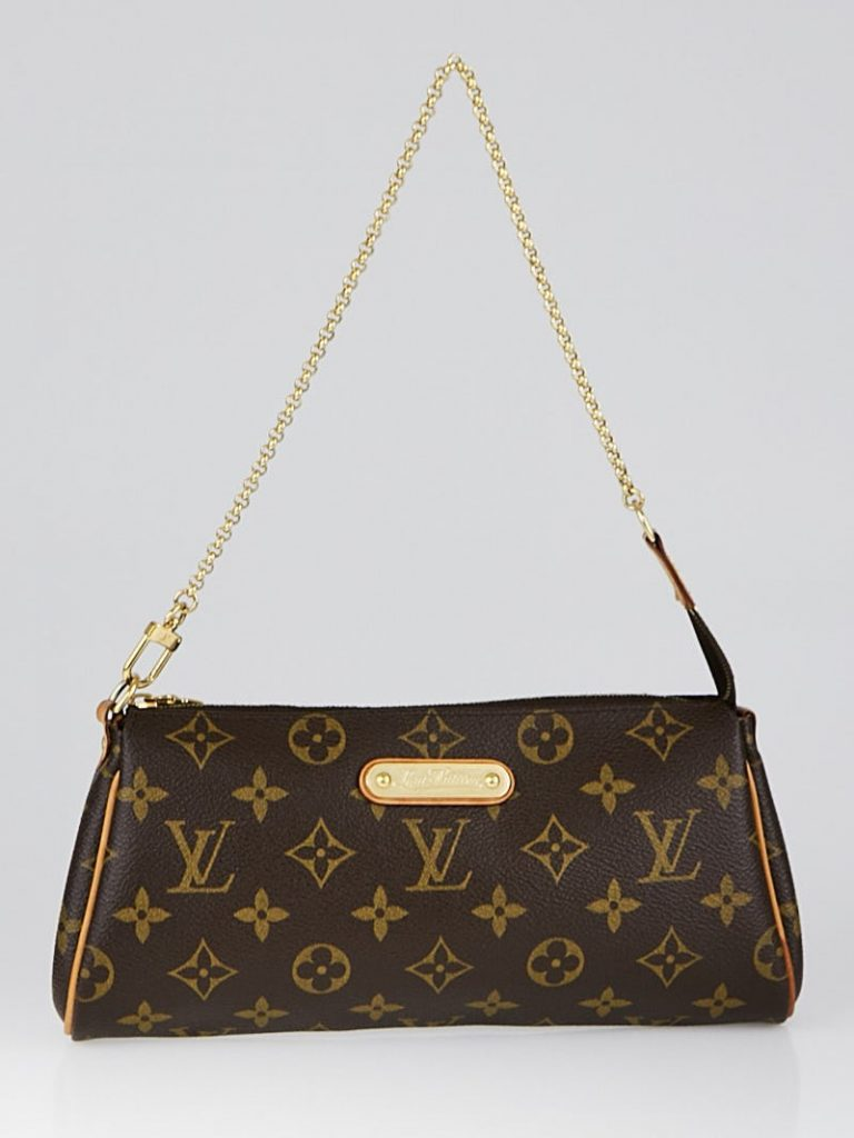 Louis Vuitton Monogram Canvas Eva Clutch Bag | Yoogi's Closet