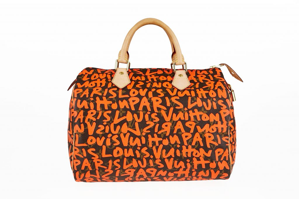 Louis Vuitton Orange Stephen Sprouse Graffiti Speedy