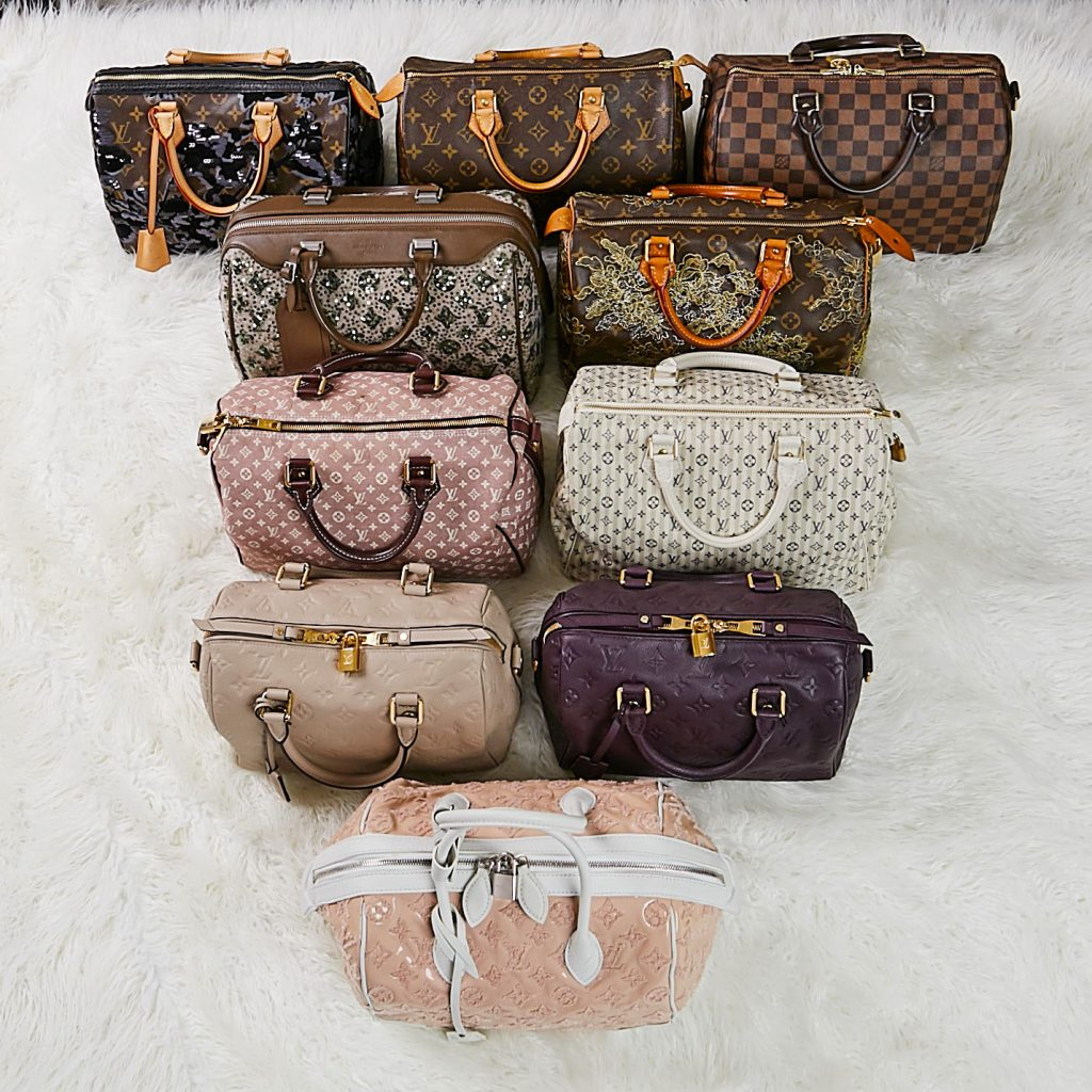 Louis Vuitton Limited Edition Speedy Bags