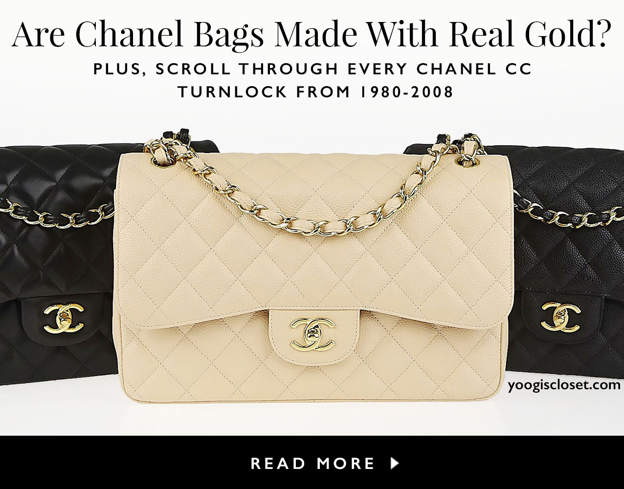 Are Authentic Chanel Bags Made With Real Good? Find Out on YoogisCloset.com