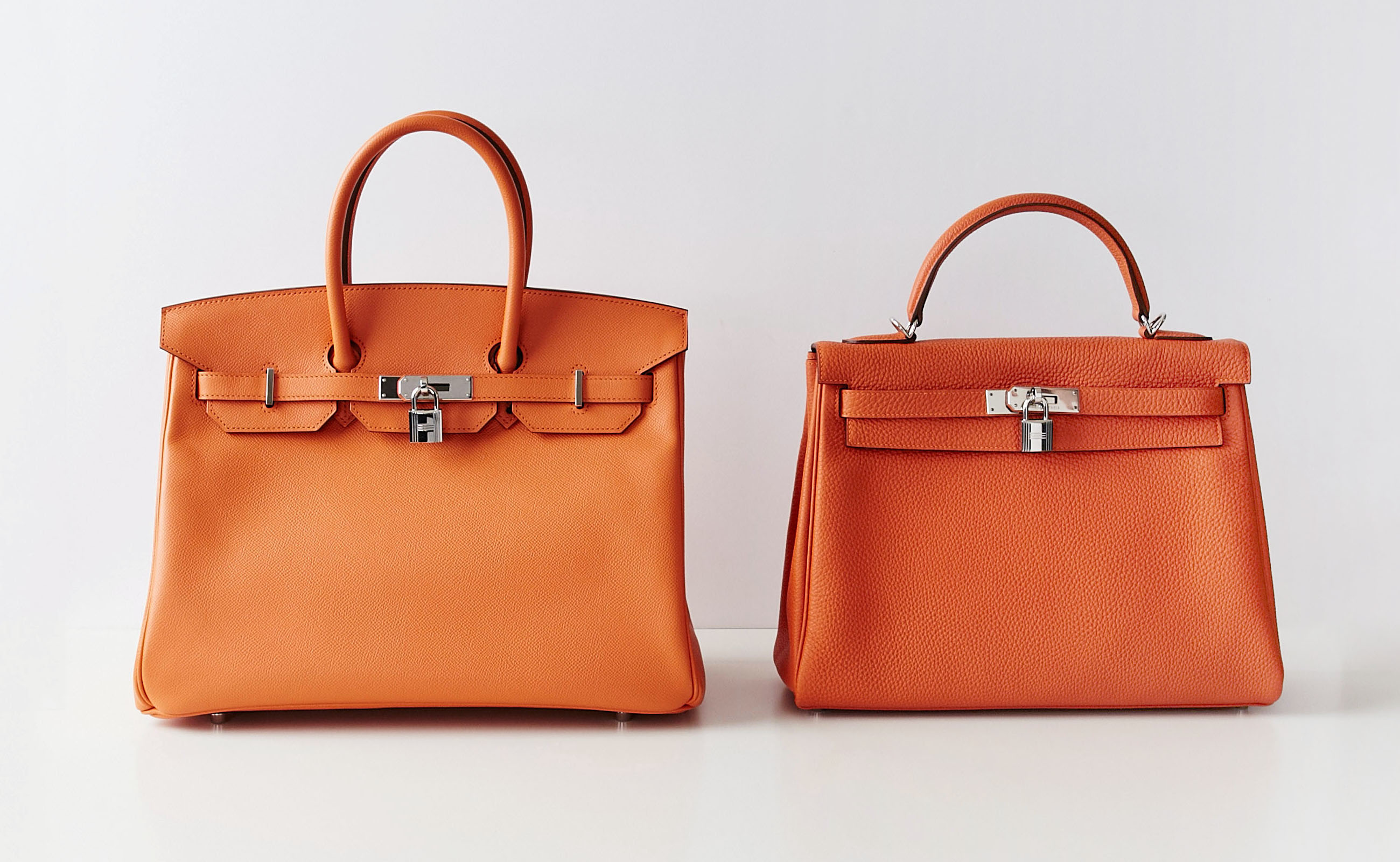 How To Tell The Difference Between an Hermes Birkin vs Kelly Bag | YoogisCloset.com