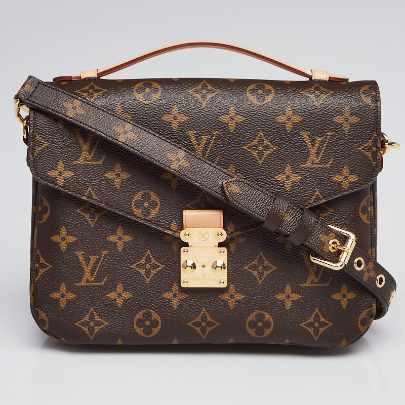 Louis Vuitton Pochette Metis | Yoogi's Closet Authenticated Pre-Owned Luxury yoogiscloset.com