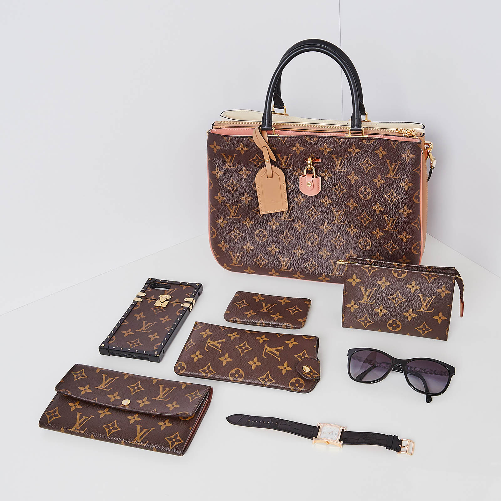 Louis Vuitton Monogram Flatlay