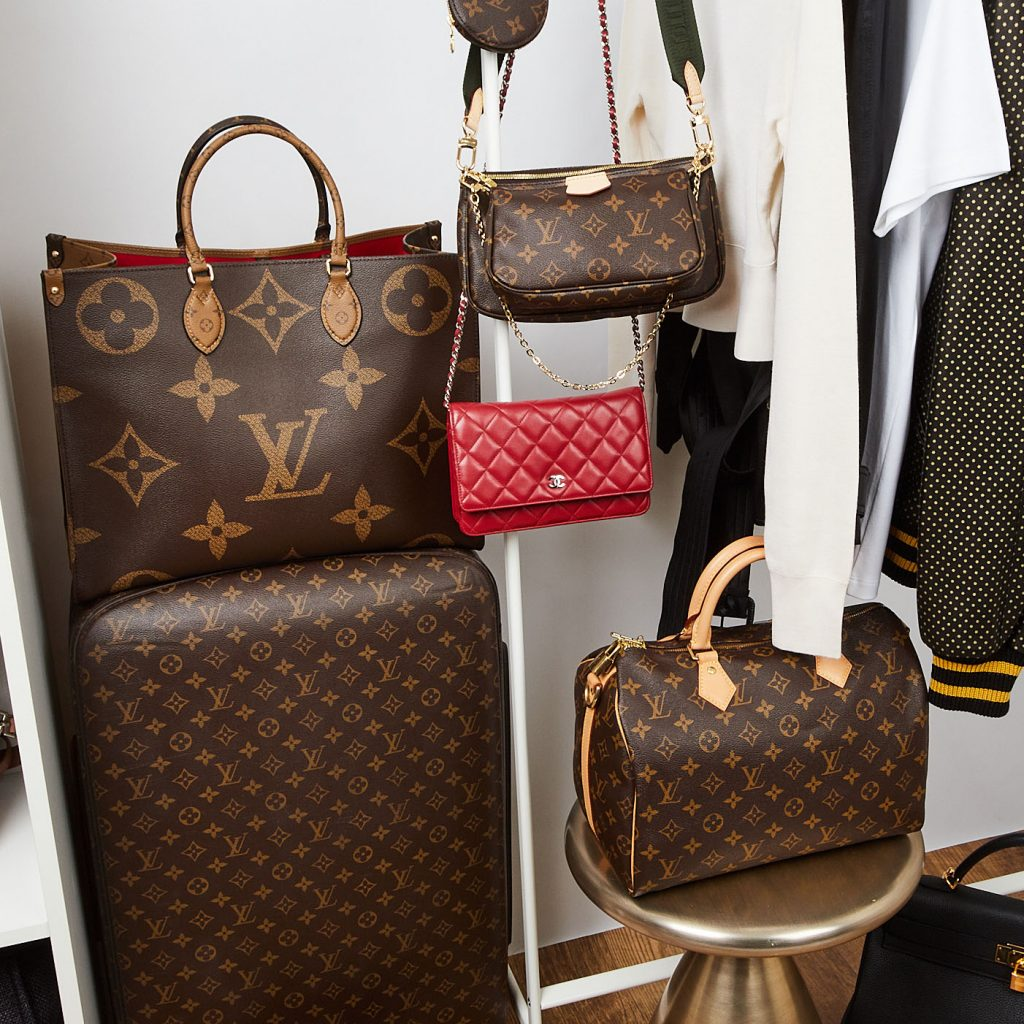 Louis Vuitton and Chanel collection