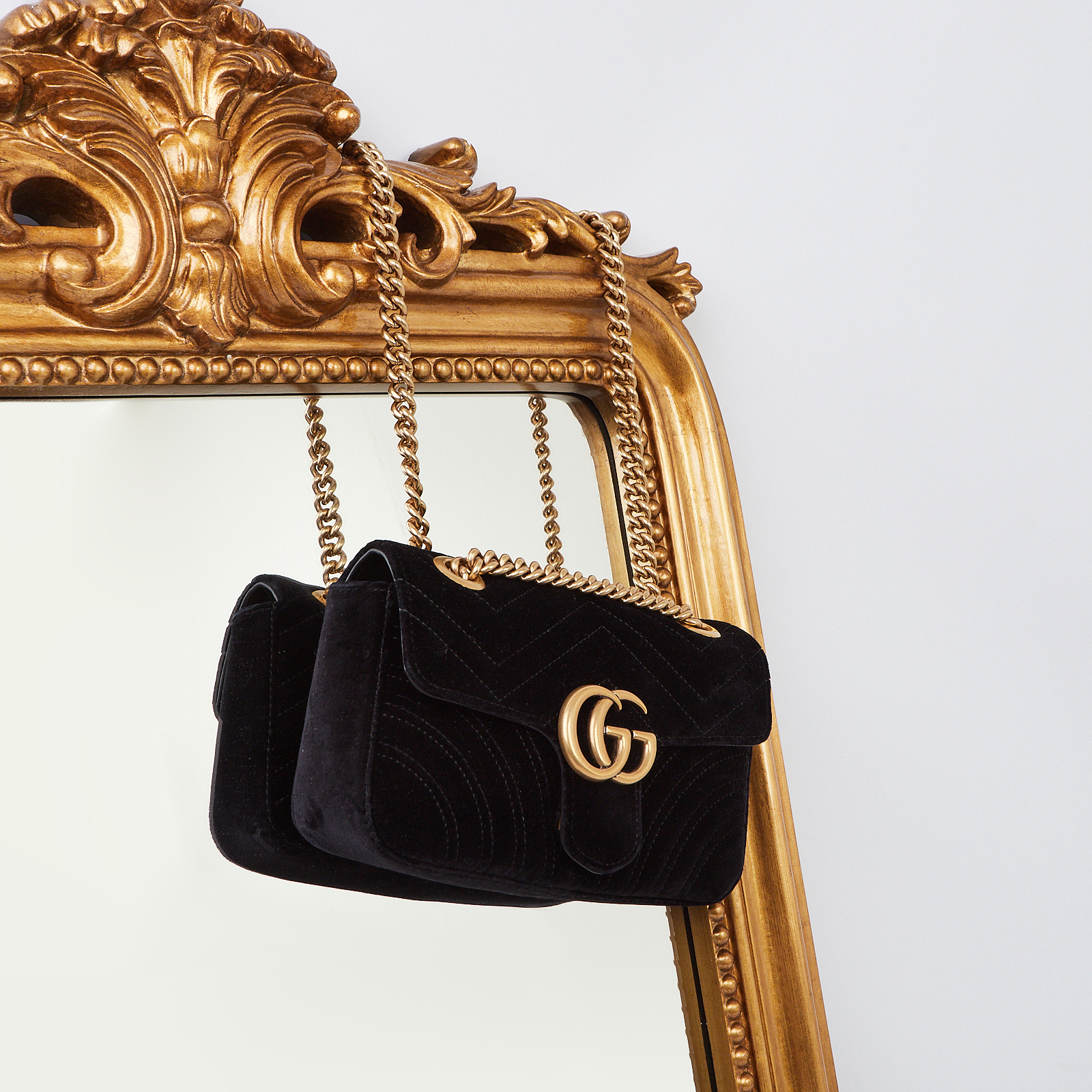 Gucci Marmont Flap Bag | Yoogi's Closet Authenticated Pre-Owned Luxury yoogiscloset.com